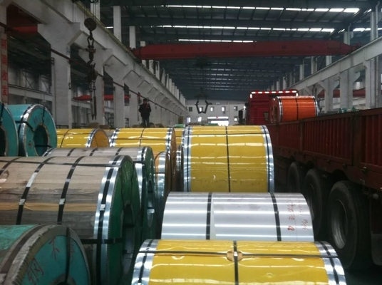 Cina High resistant 316L Cold rolled Stainless Steel Strip Coil / Stainless Steel Diamond Plate pemasok