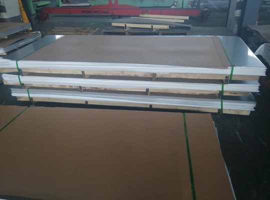 Cina Cold Rolled Steel Sheet 2B Surface 304 304L 304H Stainless Steel Plate Sheet pemasok