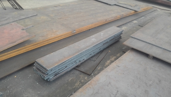Cina GB Q345 Hot Rolled Froged Low Alloy Carbon Steel Plate , Hot Rolled Steel Plate pemasok