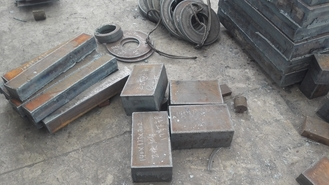 Cina ASTM 12mm A606M High Carbon Steel Plate For Railway Carriage , 3000-18000MM Length pemasok