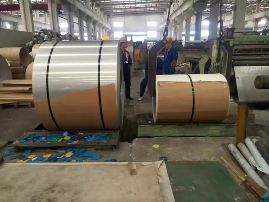Cina Hot Rolled And Cold Rolled Stainless Steel Coils 304 301 201 316L 409L 430 pemasok