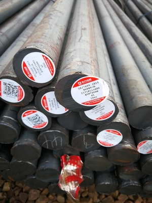 Cina 20CrNiMoA SAE8620H Steel Round Rod / Rolled Alloy Bar Panas untuk Chemical 20crnimo pemasok
