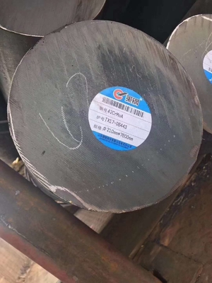 Cina 20CrMnTiH Alloy Steel Rod / Hot Rolled Steel Bar OD 210 * 7600mm 20CrMnTi 20MnCr5G / 18HGT pemasok