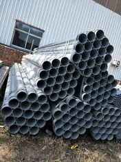 Cina ERW Zinc Coated Seamless Steel Pipe Galvanized Hollow Section pemasok