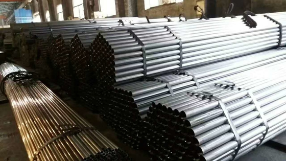 ERW Carbon Steel Pipe Aplikasi Mobil, Welded Steel Tube ST37