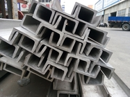 Cina 201 304 316L 321 310S 2205 904l Stainless Steel U Channel Bright Surface For Industrial pabrik
