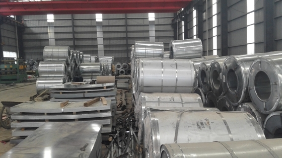 EN 10326 Hot Galvanized Coil Steel / Galvanized Iron Steel Sheet In Coil SGCC Z40-Z275