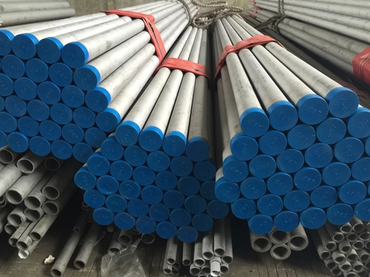 Seamless SS Pipe / Tabung Stainless Steel AISI 904L ASTM A269 B677 ASME SB677 Paduan 1.4539