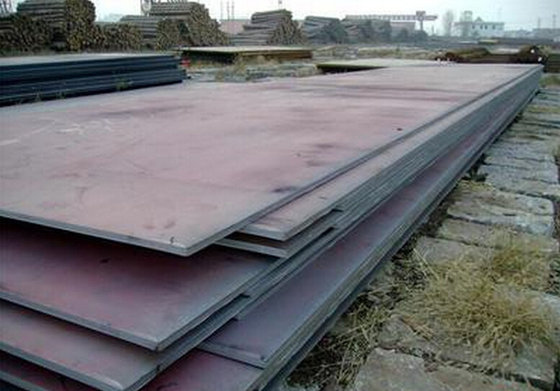 Ss330 SS400 Ss490 Ss540 Carbon / Alloy Steel Plate 1500 - 4100mm Lebar