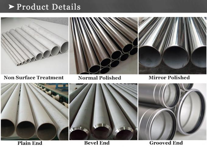 welded and seamless ASTM XM-19 stainless tubes