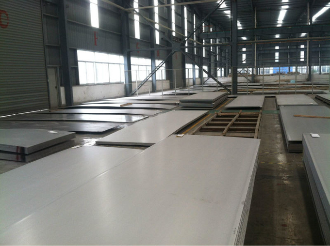 Industrial Cold Rolled Duplex Steel Plate AISI 2205 S31083 S323304 904L S32750